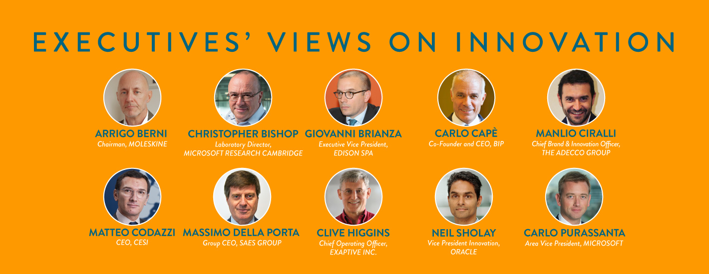 Executives' Views on Innovation: speakers